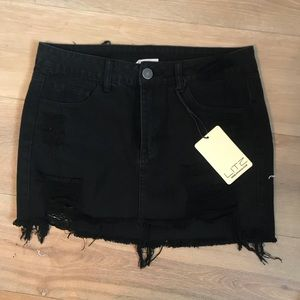 Denim - OFFERS OPEN❗️Brand new black denim skirt!